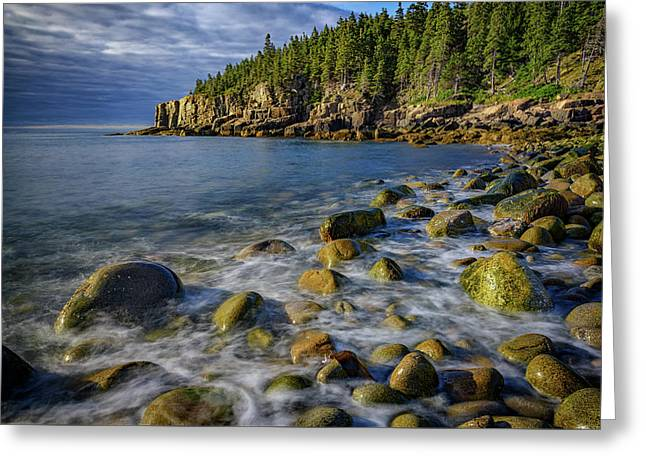 Boulder Beach Morning Greeting Card by Rick Berk