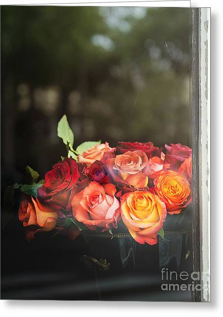 Greeting Cards - Bouquet of Roses Greeting Card by Ivy Ho