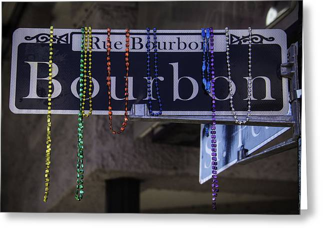 Rue Bourbon Greeting Cards - Bourbon Street Greeting Card by Garry Gay