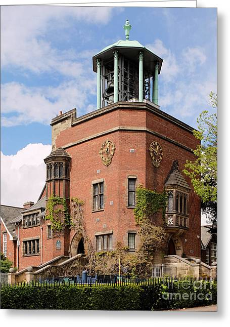 Quaker Greeting Cards - Bournville Carillon Greeting Card by John Chatterley