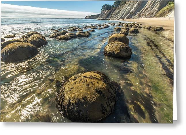 California Beach Greeting Cards - Bowling Ball Beach 5 Greeting Card by Marc Crumpler