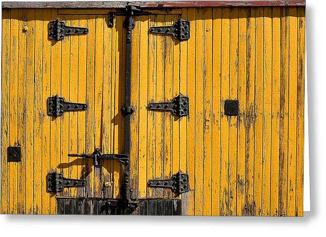 Boxcars Greeting Cards - Boxcar Greeting Card by Joe Bonita