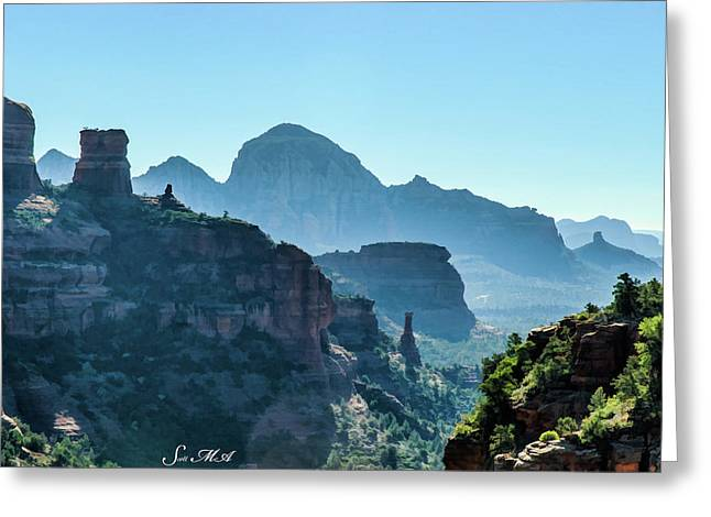 Boynton Canyon 05-1049f Greeting Card by Scott McAllister