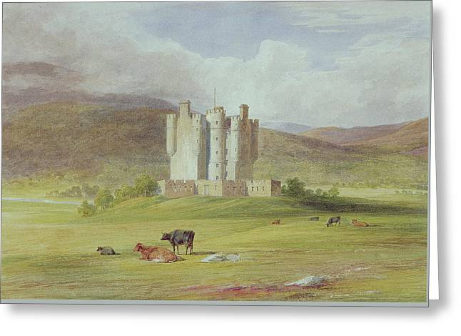 Braemar Castle Greeting Card by James Giles