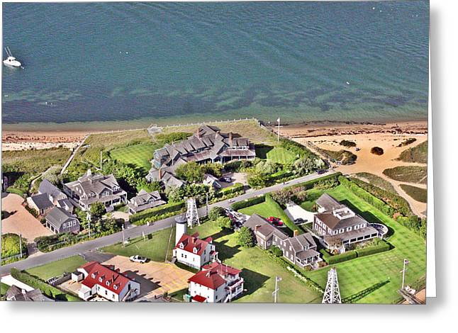 Brant Point Greeting Cards - Brant Point House Nantucket Island Greeting Card by Duncan Pearson