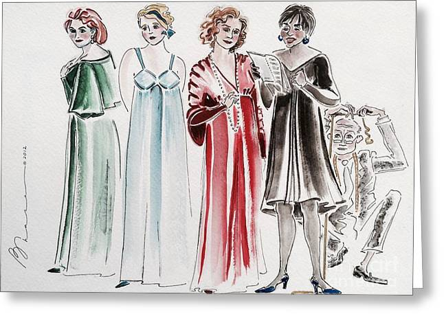 Behind The Music Greeting Cards - Break a Leg Greeting Card by Barbara Chase