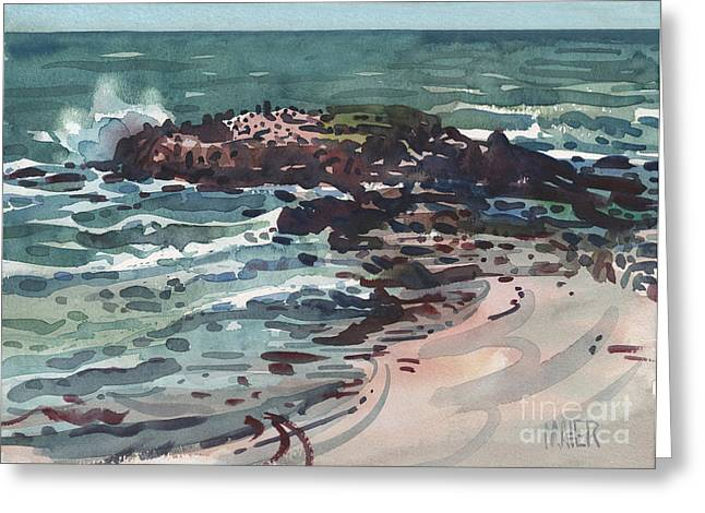Pacific Ocean Prints Greeting Cards - Breakers Greeting Card by Donald Maier