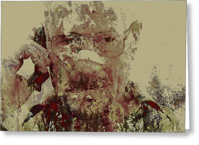 Breaking Bad Walter White 6m Greeting Card by Brian Reaves