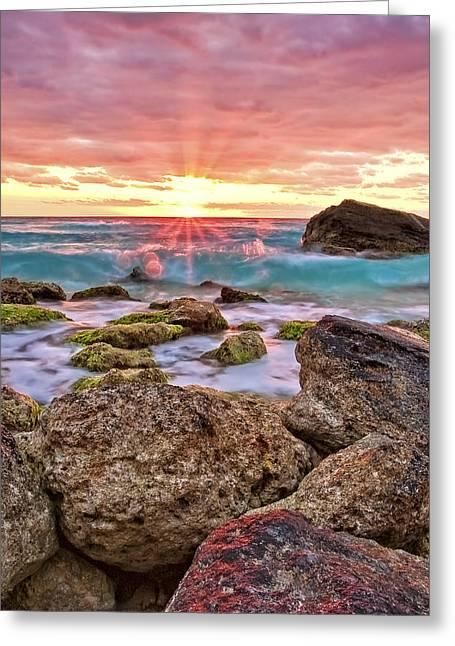 Breaking Dawn Greeting Card by Marcia Colelli