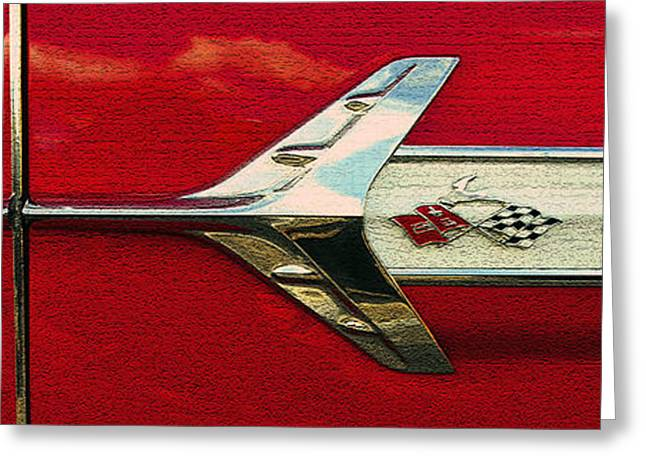 1960 Greeting Cards - Breaking the sound barrier Greeting Card by David Lee Thompson