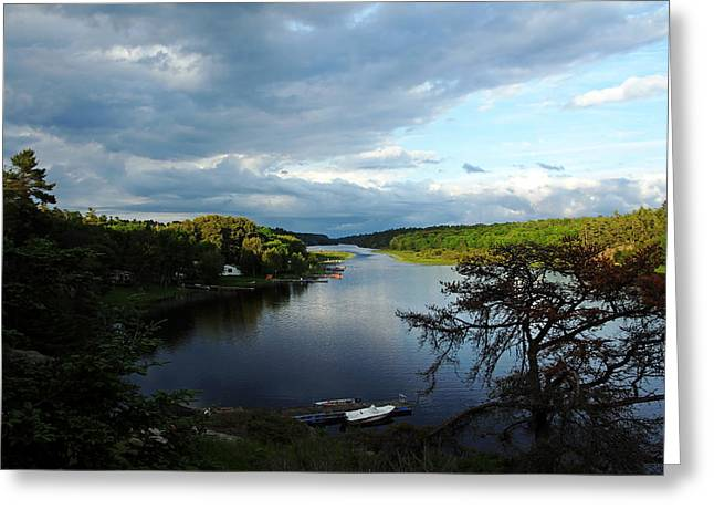 Sun Breaking Through Clouds Greeting Cards - Breaking Through Greeting Card by Debbie Oppermann
