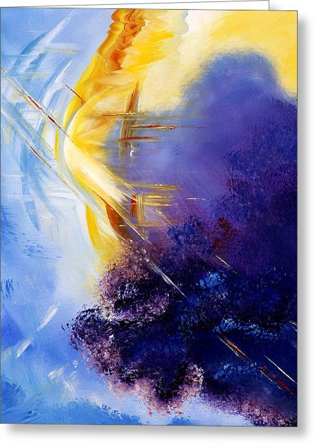Breakthrough Greeting Card by Judy Ross