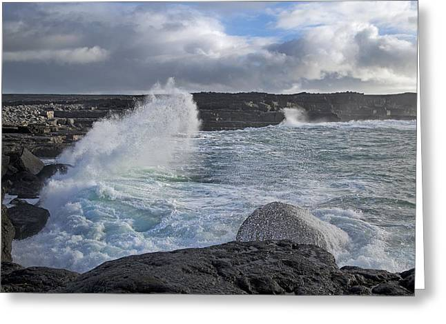 Inishmore Greeting Cards - Breath Taking Ireland Greeting Card by Betsy A  Cutler