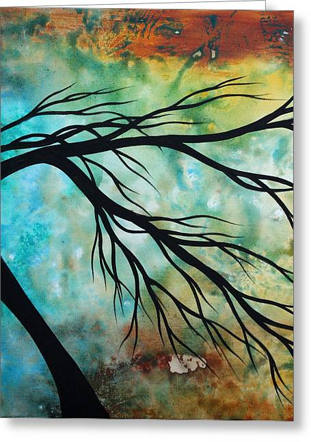 Licensor Greeting Cards - Breathless 2 by MADART Greeting Card by Megan Duncanson