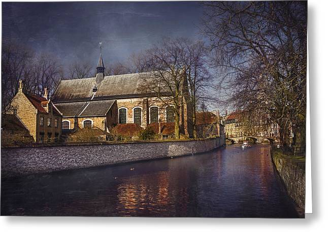 Breathtaking Bruges Greeting Card by Carol Japp