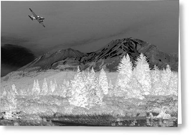 Numbers Plus Photography Greeting Cards - Breathtaking In Black and White Greeting Card by Joyce Dickens