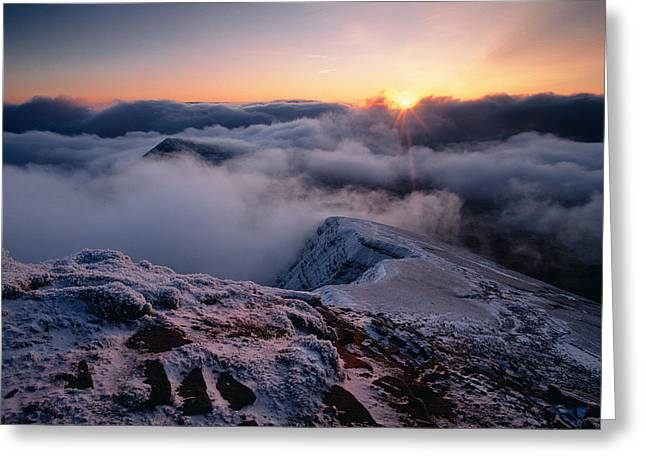 Brecon Beacons Greeting Cards - Brecon Beacons Wales Greeting Card by Panoramic Images