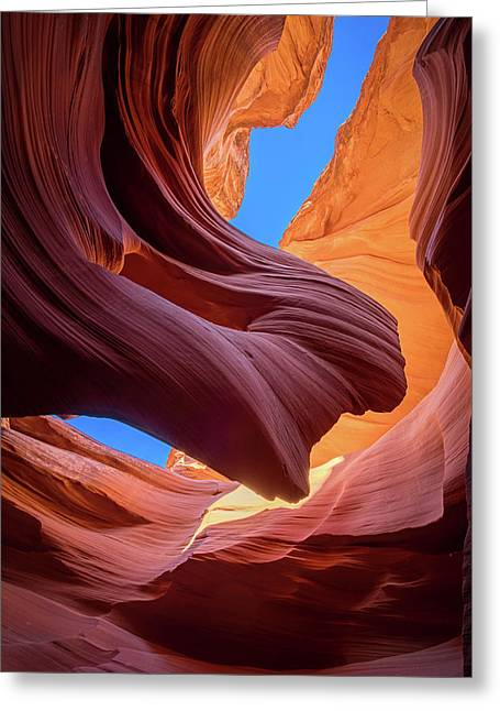 Breeze Of Sandstone Greeting Card by Edgars Erglis
