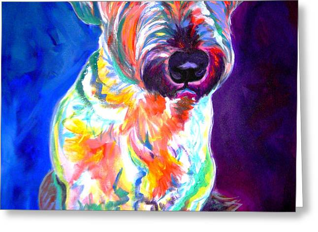Briard - Albert Greeting Card by Alicia VanNoy Call