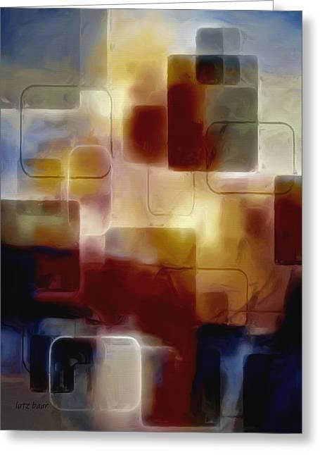 Bricks Of Destiny Greeting Card by Lutz Baar