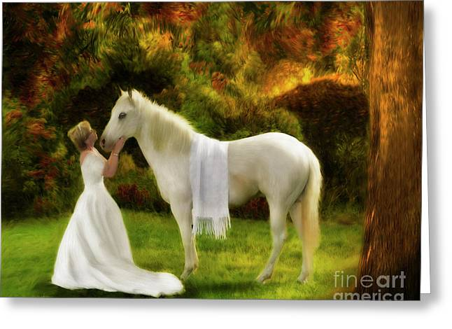 Sell Art Online Greeting Cards - Bridal Revival Greeting Card by Constance Woods
