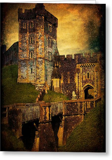 Portal Greeting Cards - Bridge and Portal at Arundel Greeting Card by Chris Lord