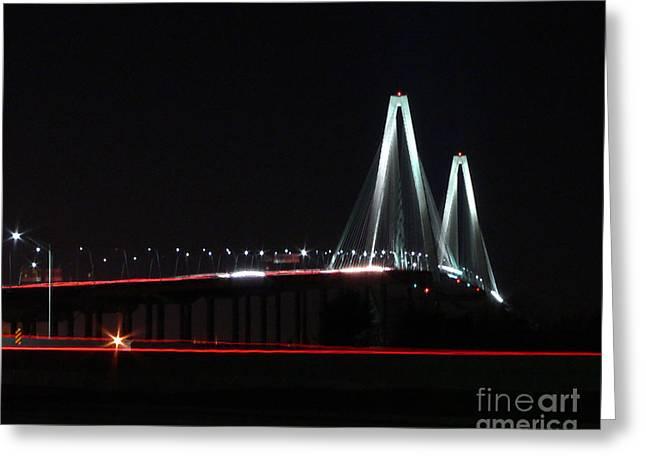 Al Powell Photography Usa Greeting Cards - Bridge Blur - Digital Art Greeting Card by Al Powell Photography USA