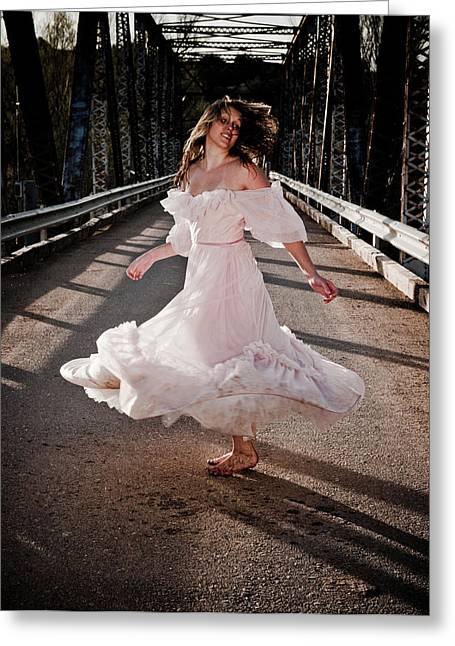 Dance Of Life Greeting Cards - Bridge Dancer Greeting Card by Scott Sawyer