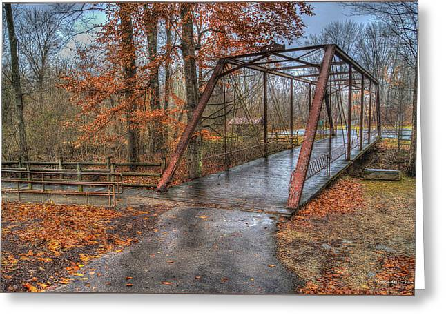 Bridge From The Past Greeting Card by Wendell Thompson