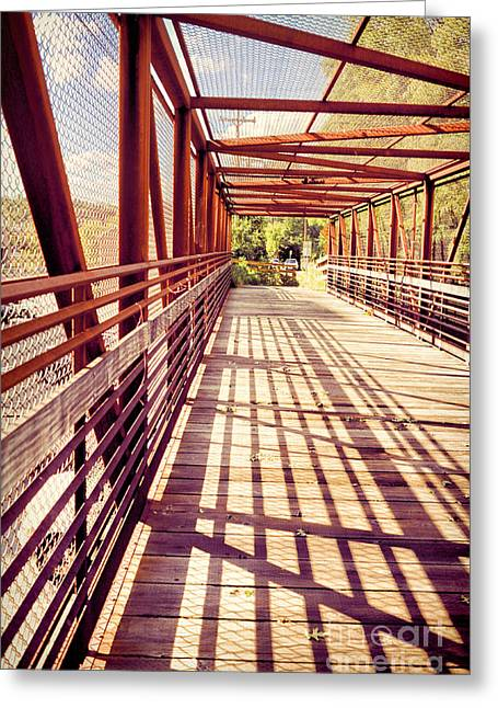 Bridge Greeting Cards - Bridge Greeting Card by HD Connelly