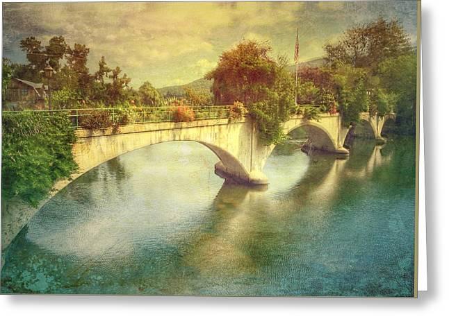 Bridge Of Flowers  Greeting Card by Betty  Pauwels