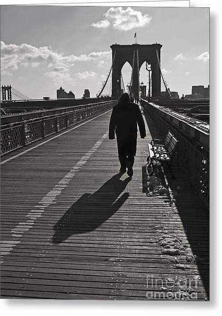 Andrew Kazmierski Greeting Cards - Bridge Walk Greeting Card by Andrew Kazmierski