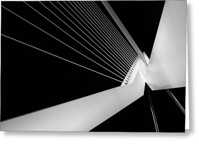 Bridge Greeting Cards - Bridgelines Greeting Card by Jeroen Jongebloed