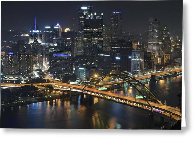 Allegheny Greeting Cards - Bridging the Gap Greeting Card by Frozen in Time Fine Art Photography