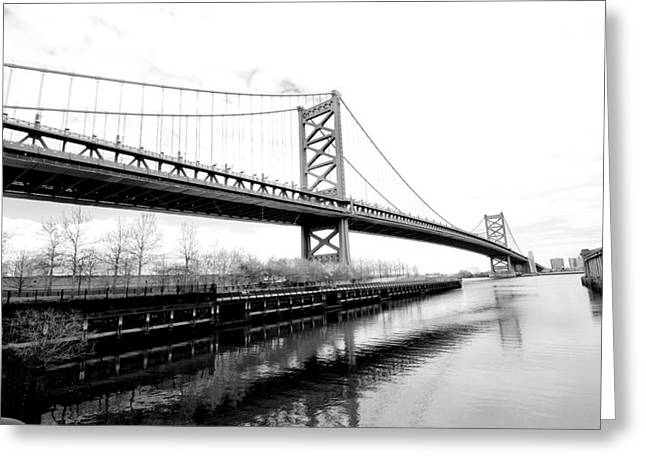 Independance Hall Greeting Cards - Bridging the Gap Greeting Card by Greg Fortier