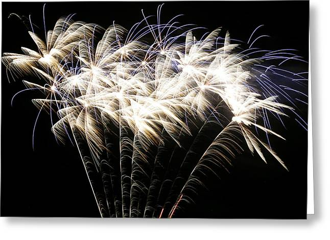 4th July Photographs Greeting Cards - Bright Lights Greeting Card by Phill  Doherty