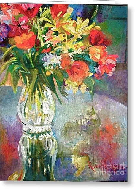 Bright Reflections Greeting Card by Reveille Kennedy