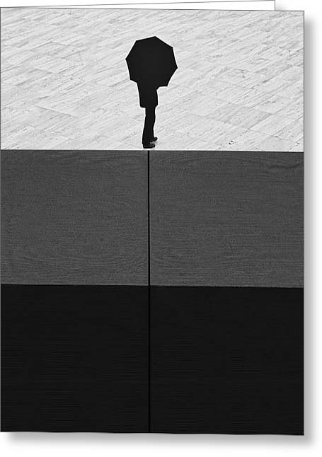 Brighter Days Greeting Card by Paulo Abrantes