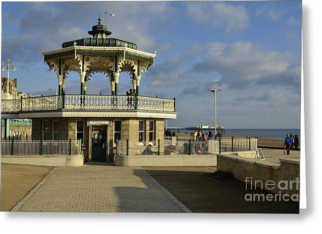Brighton Bandstand Greeting Card by Stephen Smith