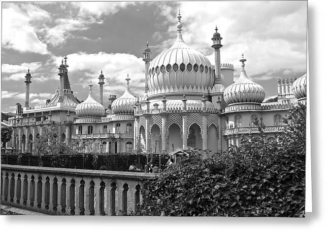 Historical Images Greeting Cards - Brighton Royal Pavillion Greeting Card by Venetia Featherstone-Witty