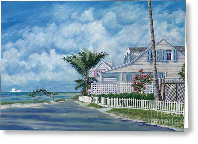 Island Life Greeting Cards - Briland Breeze Greeting Card by Danielle  Perry