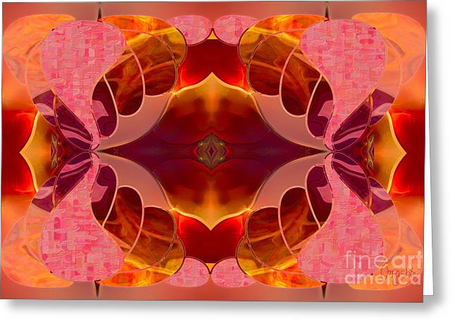 Chakra Rainbow Drawings Greeting Cards - Brilliant Surprises Abstract Art by Omashte Greeting Card by Omaste Witkowski