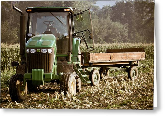 Sweet Corn Farm Greeting Cards - Bring the Load Greeting Card by Tim  Fitzwater
