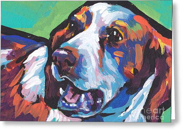 Spaniel Greeting Cards - Britts A Hit Greeting Card by Lea