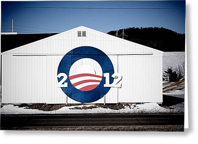 President Obama Greeting Cards - Bro-Bama Greeting Card by Samuel Caban