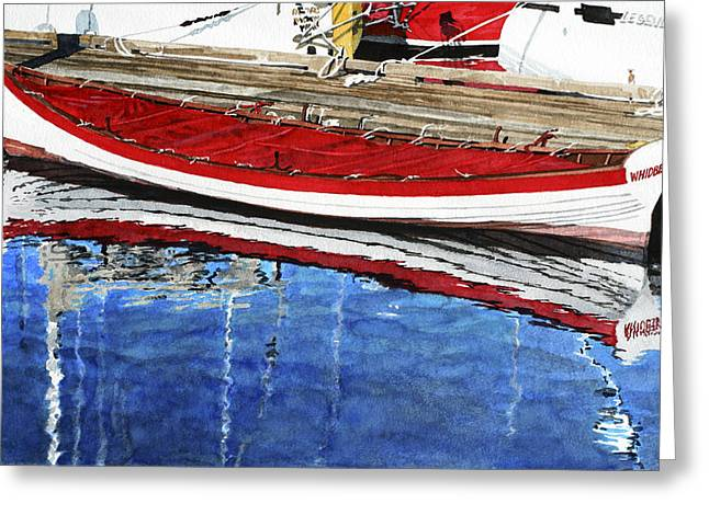Row Greeting Cards - Broad Daylight Greeting Card by Perry Woodfin