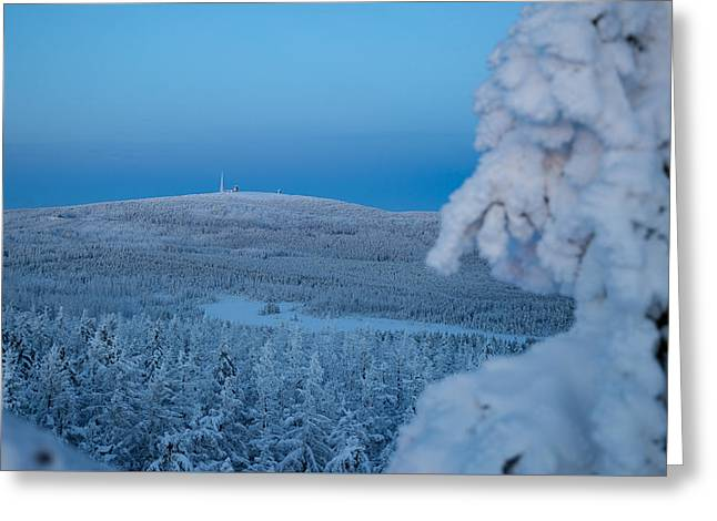 Brockenblick, Harz  Greeting Card by Andreas Levi