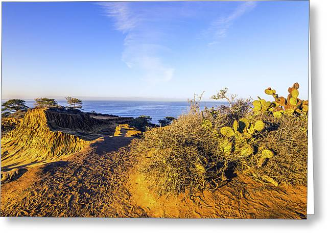 S. California Greeting Cards - Broken Hill Overlook Greeting Card by Joseph S Giacalone