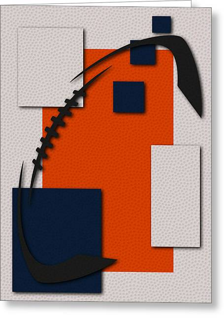 Denver Broncos Greeting Cards - Broncos Football Art Greeting Card by Joe Hamilton