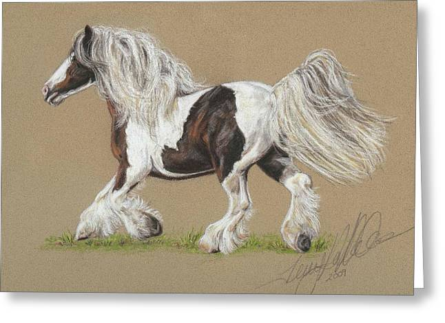 Rural Pastels Greeting Cards - Bronwyn Greeting Card by Terry Kirkland Cook